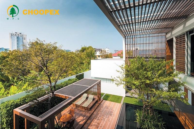 فضای باز ساختمان را به بهترین شکل تغییر دهید !